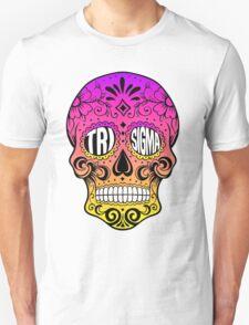 Tri Sigma Skull Unisex T-Shirt