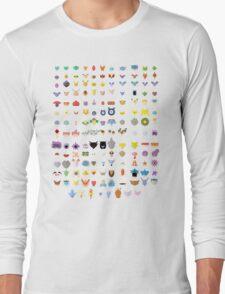 Original 151 Pokemon Long Sleeve T-Shirt