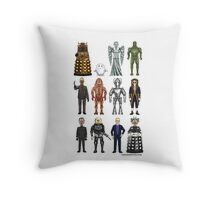 Who's Bad? Throw Pillow