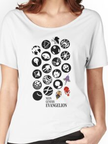 The Neon Genesis Evangelion Crew! Women's Relaxed Fit T-Shirt