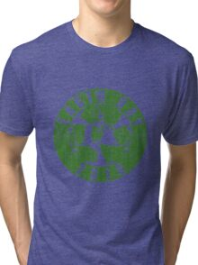 Vintage Earth Day Recycle 2016 Tri-blend T-Shirt
