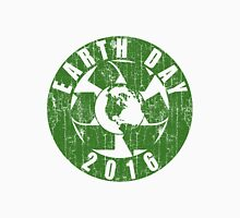 Vintage Earth Day Recycle 2016 Womens Fitted T-Shirt