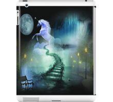Magic unicorn digital illustration iPad Case/Skin