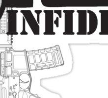 Ar-15 INFIDEL Sticker