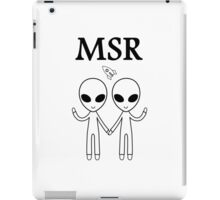 MSR X-Files iPad Case/Skin