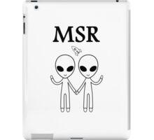 MSR X-Files iPad Case/Skin