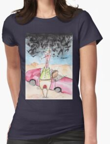 Raoul Cluck Womens Fitted T-Shirt