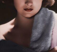 Myrna Loy 1930s Sticker