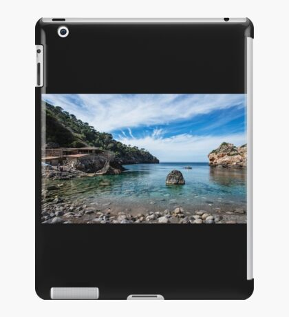 """Cala Deià Cove, as used in scenes for """"The Night Manager"""" Series on BBC iPad Case/Skin"""