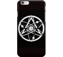 Unicursal molecule iPhone Case/Skin