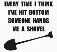 Bottom Shovel One Piece - Long Sleeve