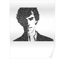 Sherlock Vector Typography Poster
