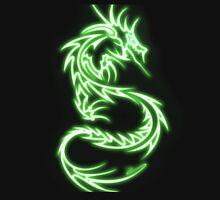 Dragon neon vert Unisex T-Shirt