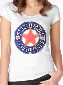 San Pellegrino T Shirt Women's Fitted Scoop T-Shirt