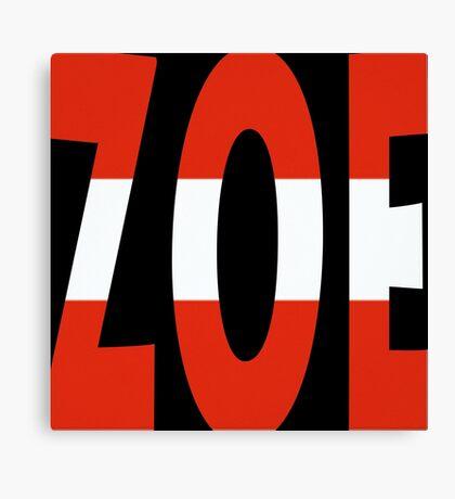 Zoe - Loin d'ici - Eurovision 2016 - Austria Canvas Print