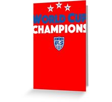Champion Word Greeting Card