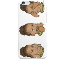 Hear No Evil Speak No Evil See No Evil - North West Edition 2 iPhone Case/Skin