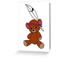 Neverland Bear! Greeting Card