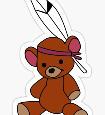 Neverland Bear! Sticker