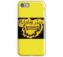 Holiday in Cambodia iPhone Case/Skin