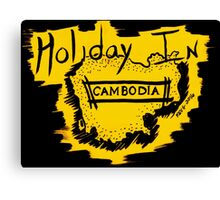 Holiday in Cambodia Canvas Print