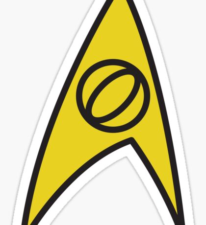 Star Trek Science Insignia Sticker