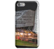 Adelaide Festival Centre - Video Projection iPhone Case/Skin