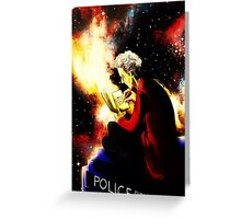 Twelfth Doctor - sketching Greeting Card