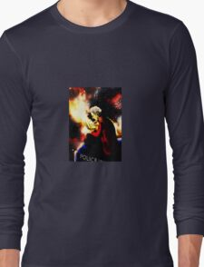 Twelfth Doctor - sketching Long Sleeve T-Shirt