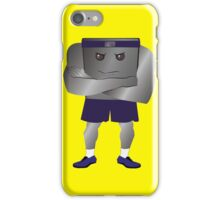 Weight Scale Fitness Trainer (M) iPhone Case/Skin