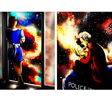 Twelfth Doctor and Clara Oswald Photographic Print