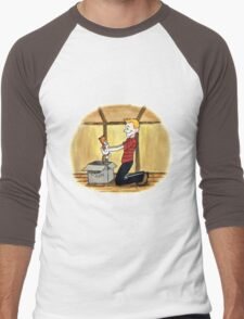 When Calvin will be tall Men's Baseball ¾ T-Shirt