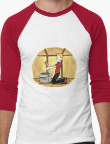When Calvin will be tall Men's Baseball ¾ T-Shirt