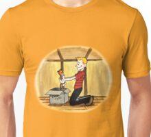 When Calvin will be tall Unisex T-Shirt