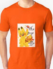 "Pokémon - Pikachu ""The very best like no one ever was"" cute design Unisex T-Shirt"