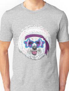 Star Disco dog Bichon Unisex T-Shirt