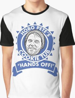 Hobo Pete's Cookie Tub - Blue Ribbon Graphic T-Shirt