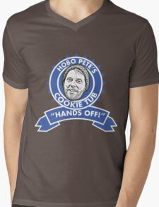 Hobo Pete's Cookie Tub - Blue Ribbon Mens V-Neck T-Shirt