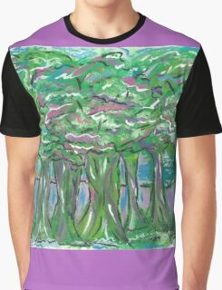 Forest of Thought Graphic T-Shirt