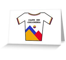 Retro Jerseys Collection - Cafe de Colombia Greeting Card