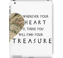 Find Your Treasure iPad Case/Skin