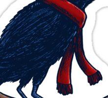 Annoyed IL Birds: The Crow Sticker
