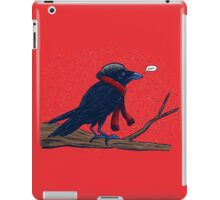 Annoyed IL Birds: The Crow iPad Case/Skin
