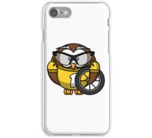 Cyclist Owl iPhone Case/Skin