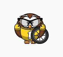 Cyclist Owl Unisex T-Shirt
