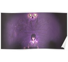 Sasuke Uchiha - Susanoo Poster
