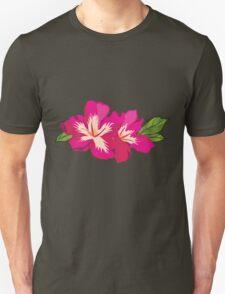 Beautiful flowers, nature pattern Unisex T-Shirt