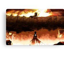 Eren Jaeger - Attack on Titans Canvas Print