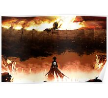 Eren Jaeger - Attack on Titans Poster