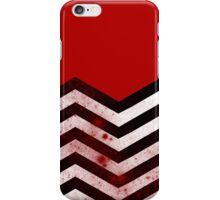 Black Lodge - Bloody Floor iPhone Case/Skin